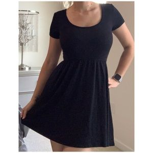 Baby doll dress, fit and flare, mini dress